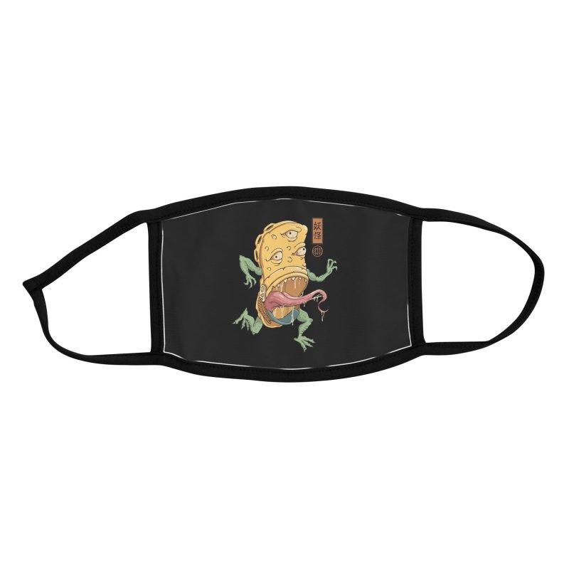 Yokai Crocs Accessories Face Mask by Vincent Trinidad Art
