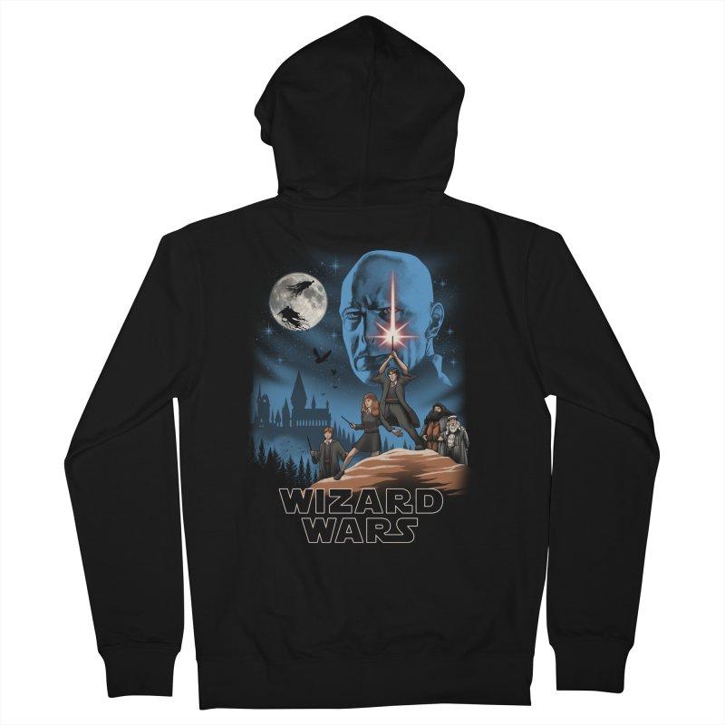 Wizard Wars Men's Zip-Up Hoody by vincenttrinidad's Artist Shop