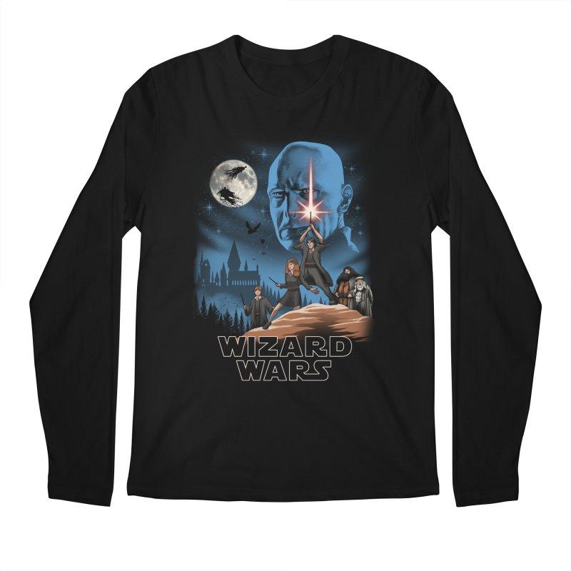 Wizard Wars Men's Longsleeve T-Shirt by vincenttrinidad's Artist Shop