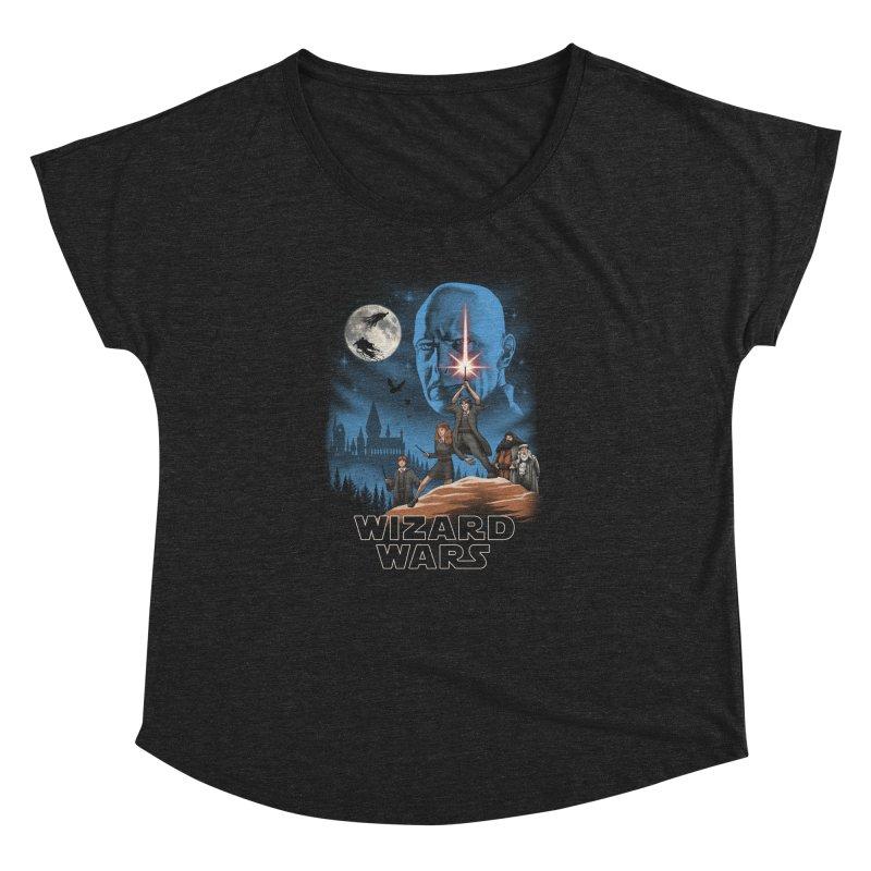 Wizard Wars Women's Dolman by vincenttrinidad's Artist Shop