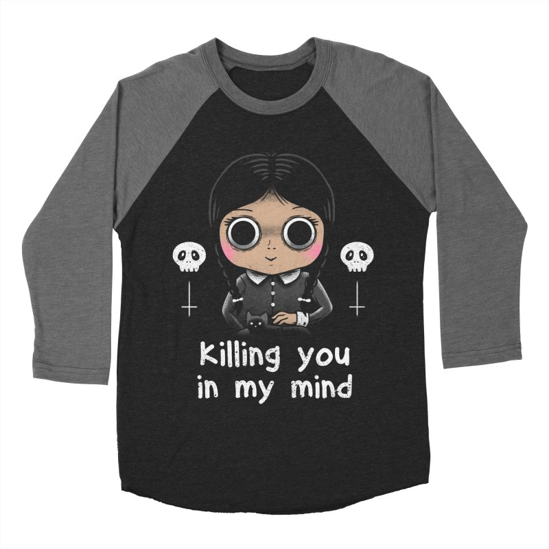 Killing You In My Mind Women's Baseball Triblend T-Shirt by vincenttrinidad's Artist Shop