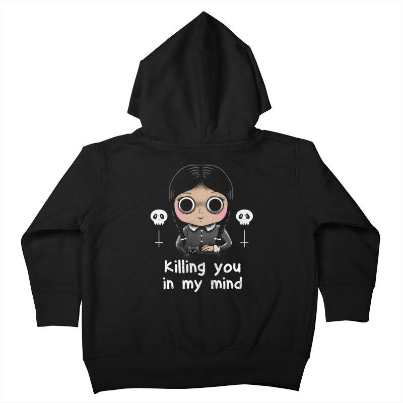 Killing You In My Mind Kids Toddler Zip-Up Hoody by vincenttrinidad's Artist Shop