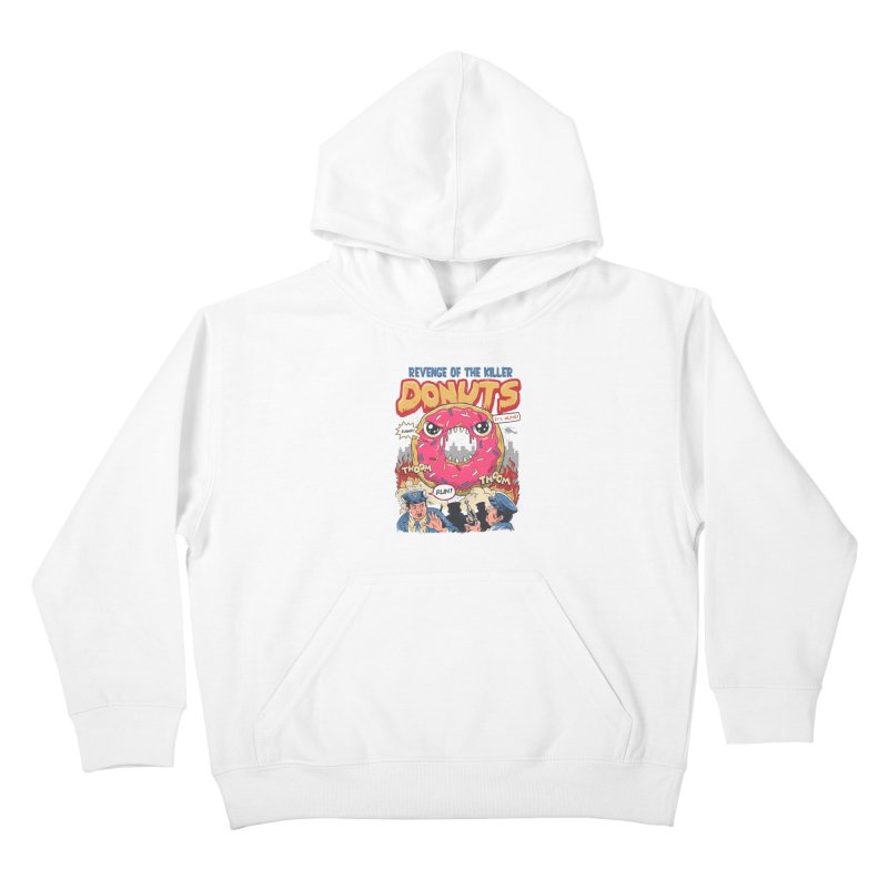 Revenge of the Killer Donuts Kids Pullover Hoody by vincenttrinidad's Artist Shop