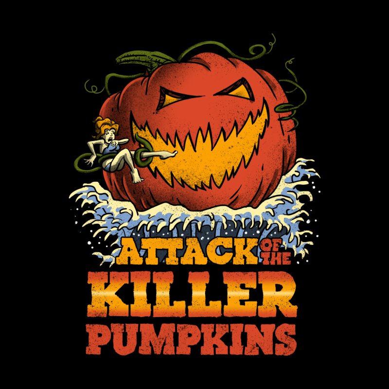 Attack of the Killer Pumpkins  by vincenttrinidad's Artist Shop