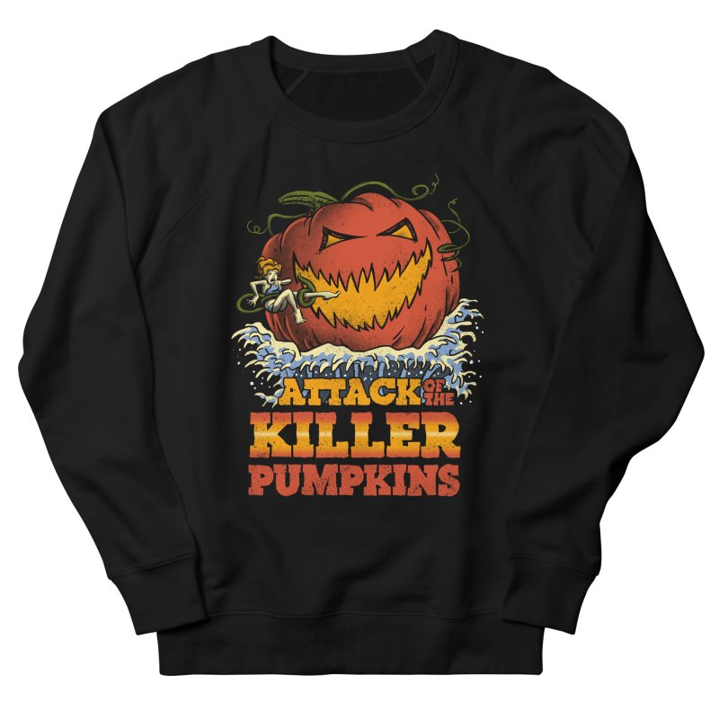 Attack of the Killer Pumpkins  Men's Sweatshirt by vincenttrinidad's Artist Shop