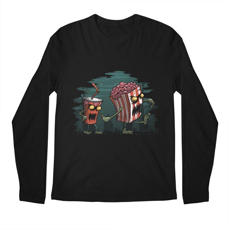 Horror Movie Essentials Men's Longsleeve T-Shirt by vincenttrinidad's Artist Shop