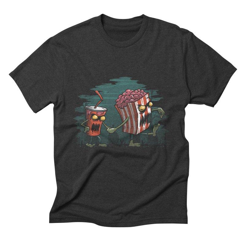 Horror Movie Essentials Men's Triblend T-shirt by vincenttrinidad's Artist Shop