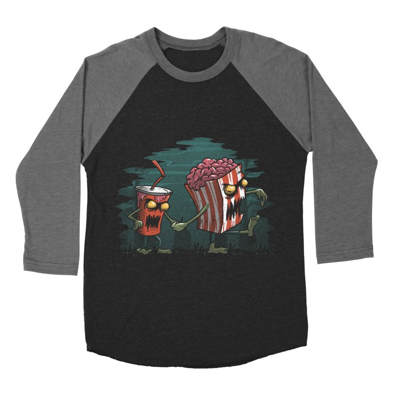 Horror Movie Essentials Men's Baseball Triblend T-Shirt by vincenttrinidad's Artist Shop
