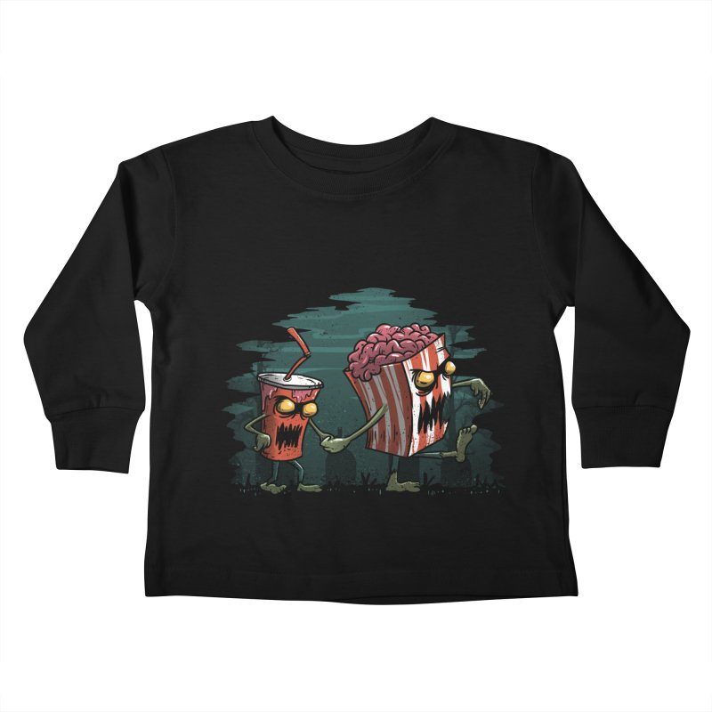 Horror Movie Essentials Kids Toddler Longsleeve T-Shirt by vincenttrinidad's Artist Shop