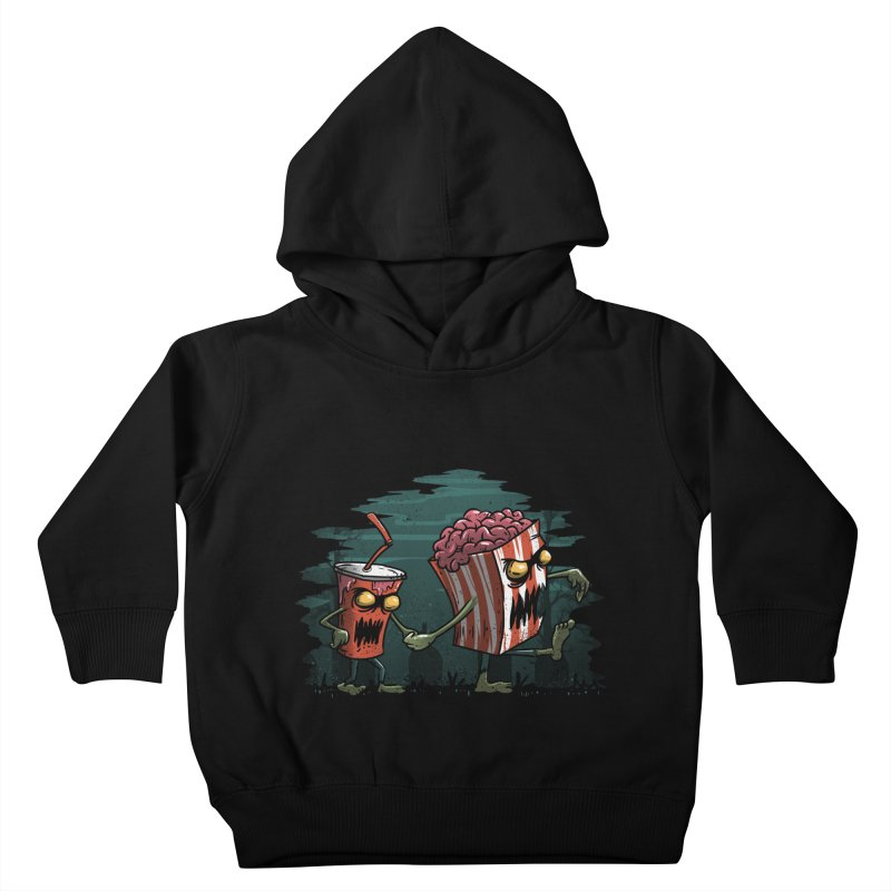 Horror Movie Essentials Kids Toddler Pullover Hoody by vincenttrinidad's Artist Shop