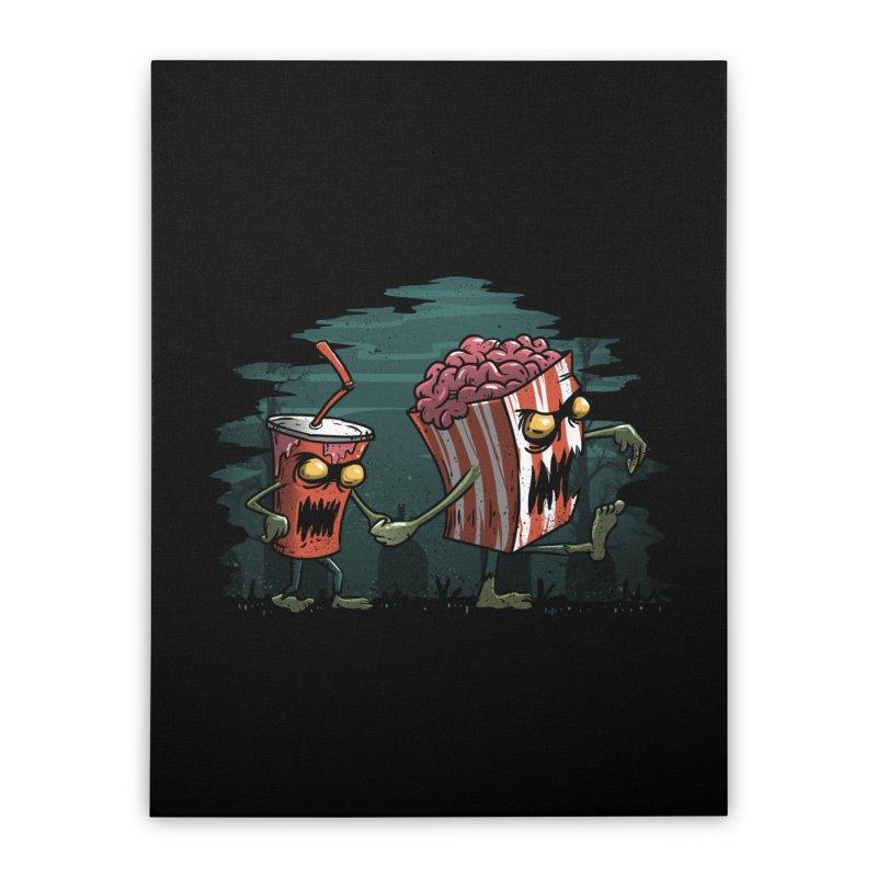 Horror Movie Essentials Home Stretched Canvas by vincenttrinidad's Artist Shop