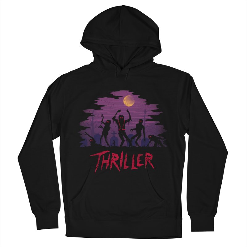 Thriller Men's Pullover Hoody by vincenttrinidad's Artist Shop