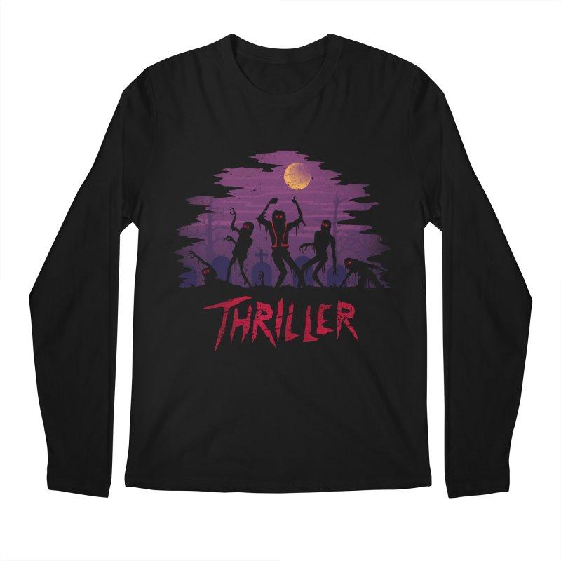 Thriller Men's Longsleeve T-Shirt by vincenttrinidad's Artist Shop