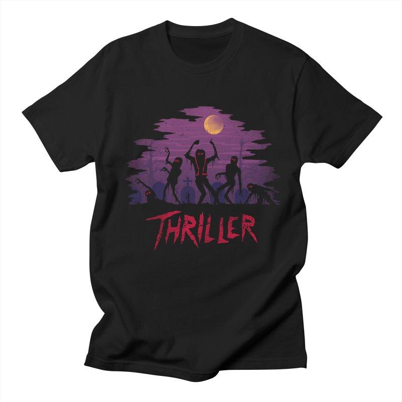 Thriller Men's T-shirt by vincenttrinidad's Artist Shop