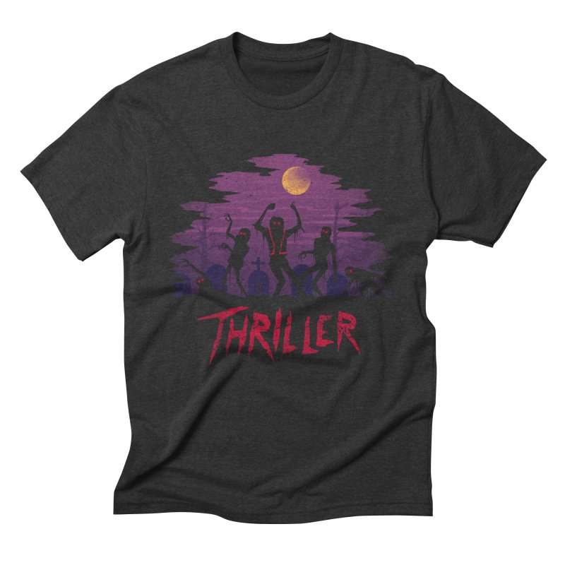 Thriller Men's Triblend T-shirt by vincenttrinidad's Artist Shop