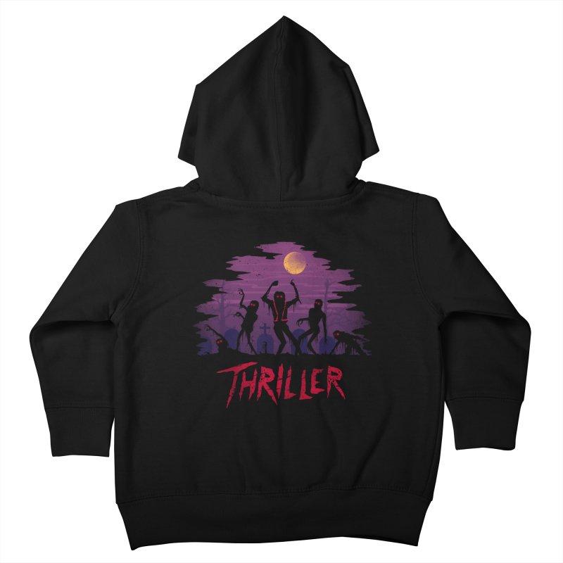 Thriller Kids Toddler Zip-Up Hoody by vincenttrinidad's Artist Shop