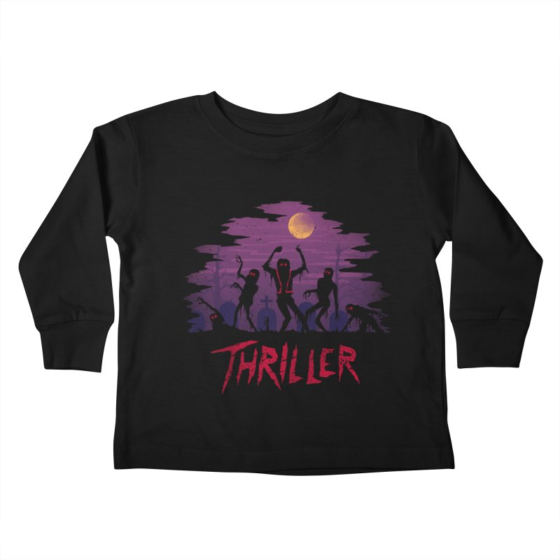 Thriller Kids Toddler Longsleeve T-Shirt by vincenttrinidad's Artist Shop