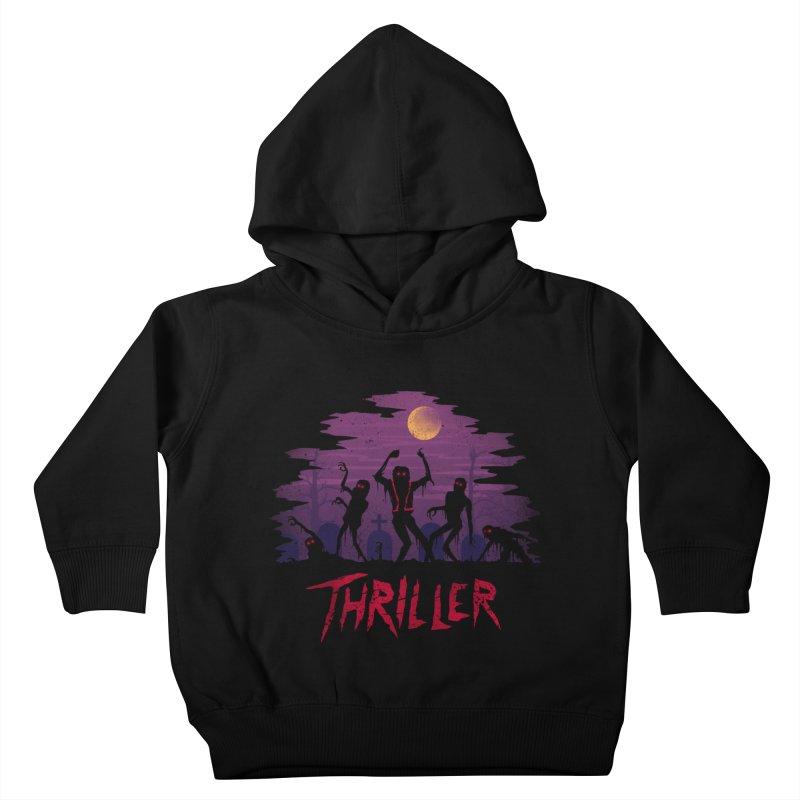 Thriller Kids Toddler Pullover Hoody by vincenttrinidad's Artist Shop