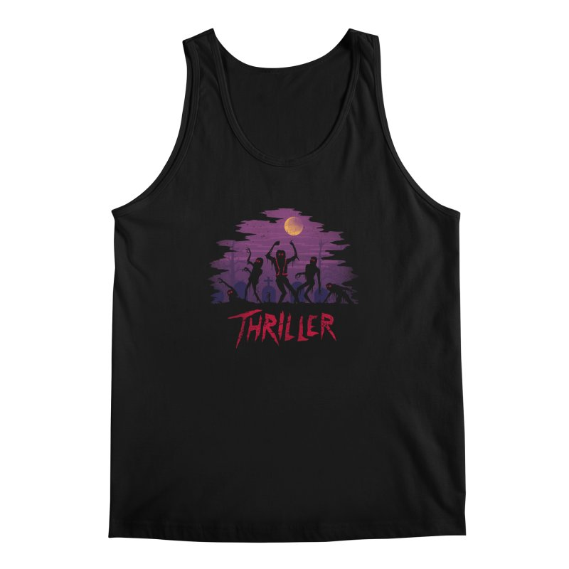 Thriller Men's Tank by vincenttrinidad's Artist Shop