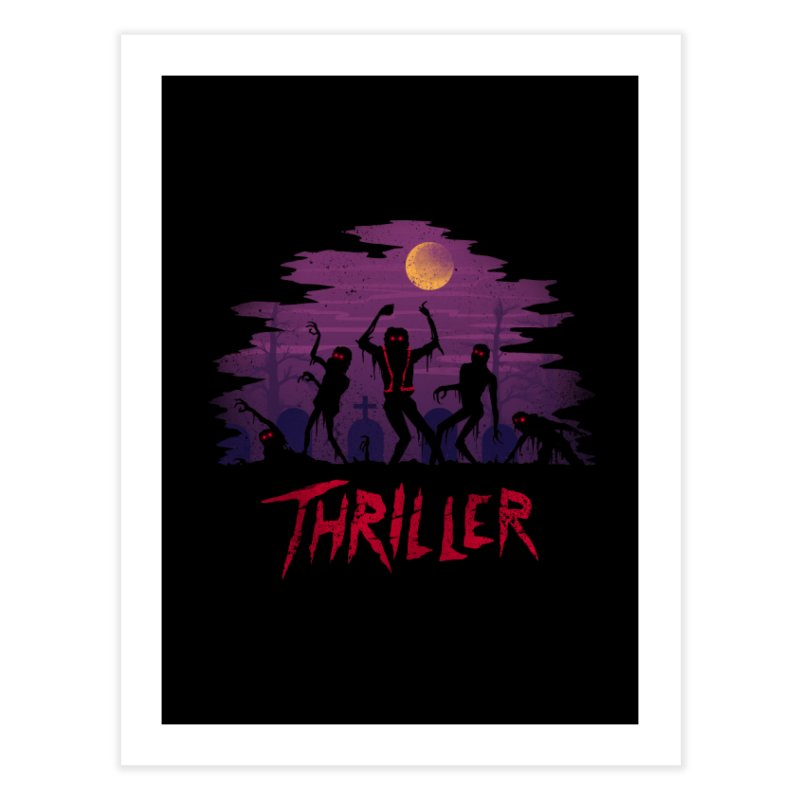 Thriller Home Fine Art Print by vincenttrinidad's Artist Shop