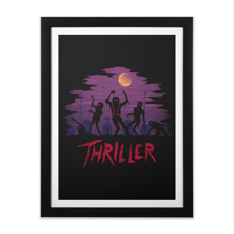 Thriller Home Framed Fine Art Print by vincenttrinidad's Artist Shop