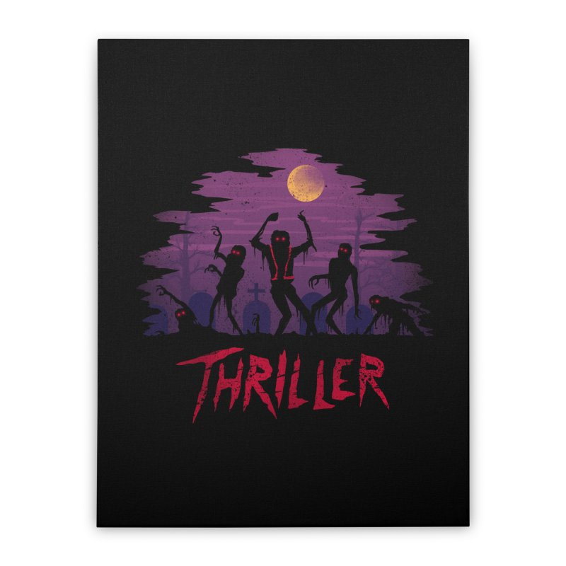 Thriller Home Stretched Canvas by vincenttrinidad's Artist Shop