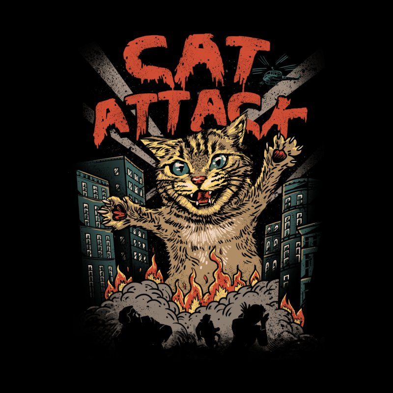 Cat Attack by vincenttrinidad's Artist Shop