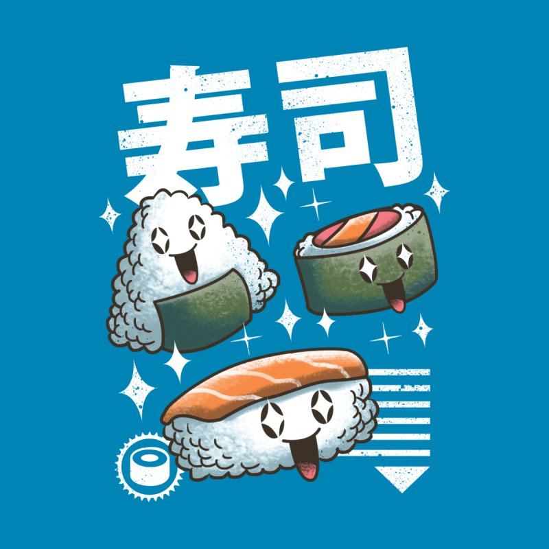 Kawaii Sushi by vincenttrinidad's Artist Shop
