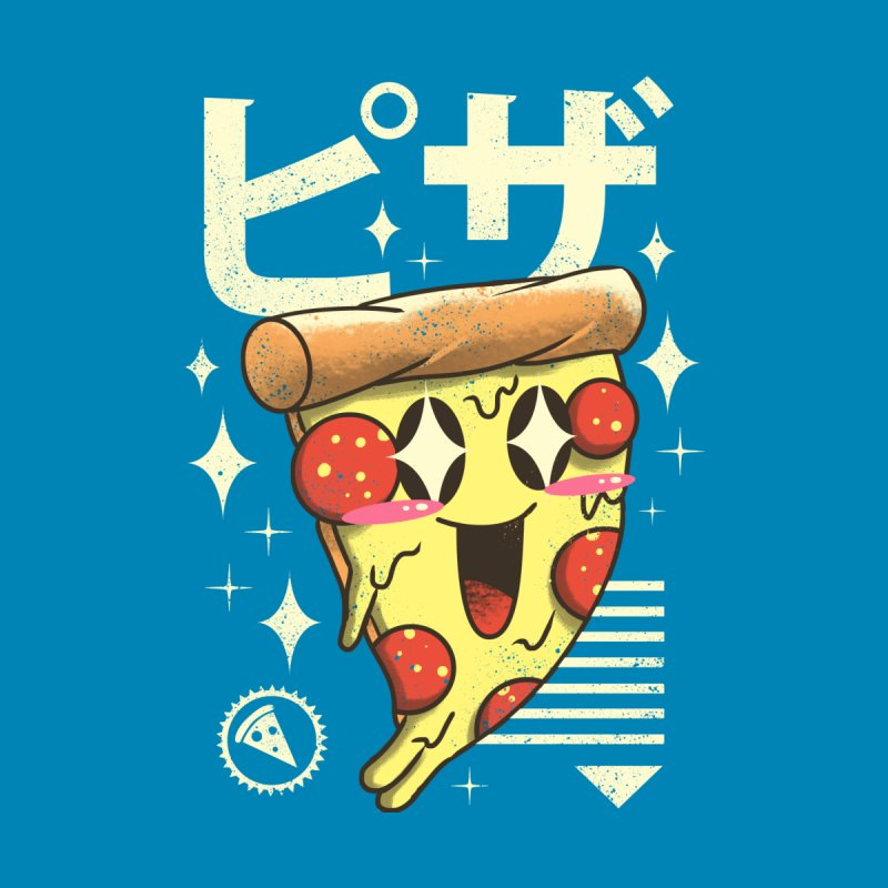 Kawaii Pizza Men's Tank by vincenttrinidad's Artist Shop