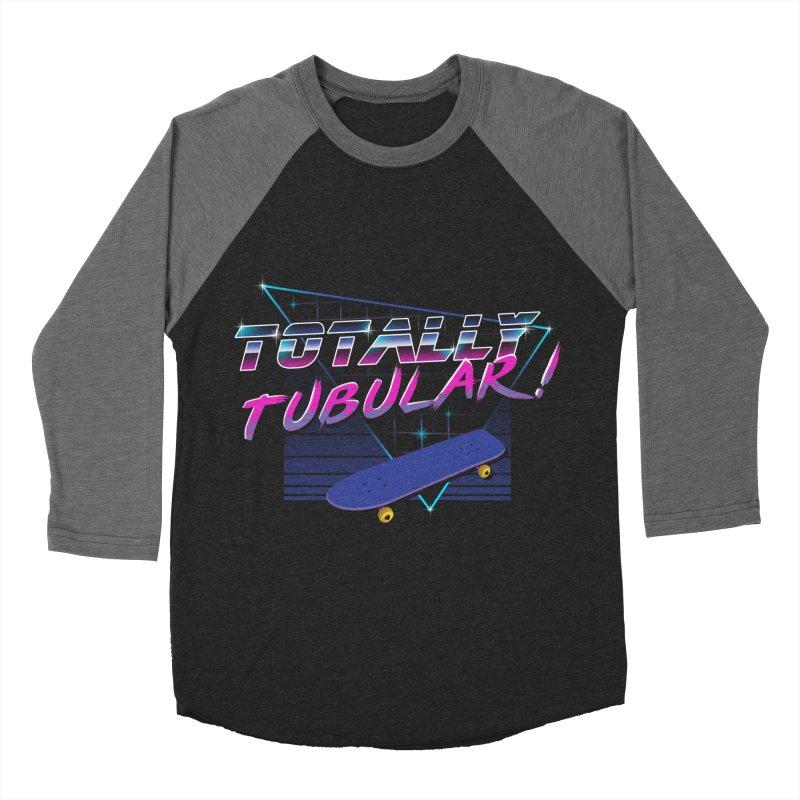 Totally Tubular Men's Baseball Triblend T-Shirt by vincenttrinidad's Artist Shop