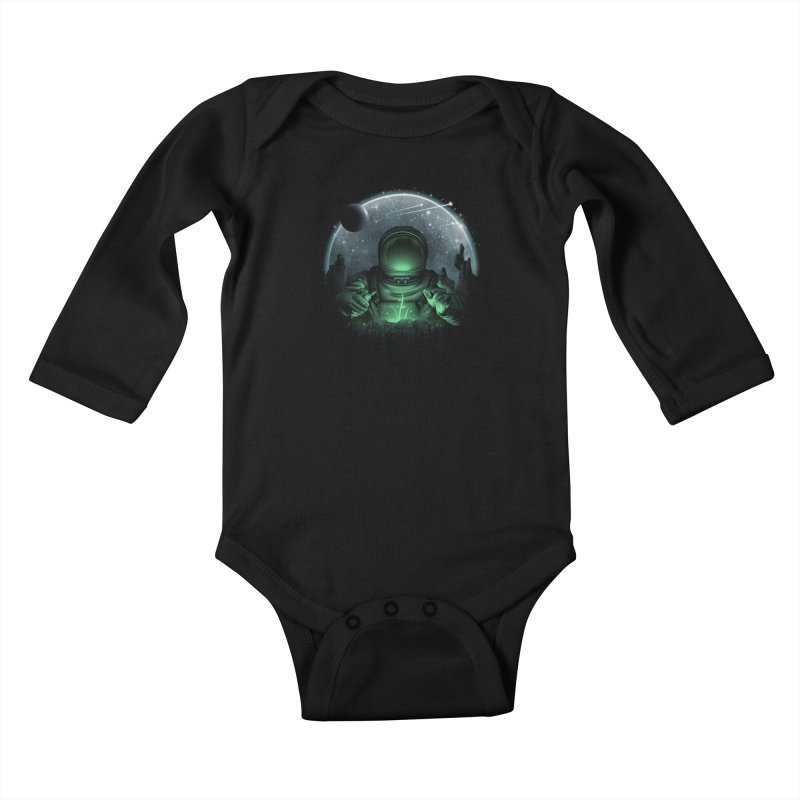 Sign of Life Kids Baby Longsleeve Bodysuit by vincenttrinidad's Artist Shop