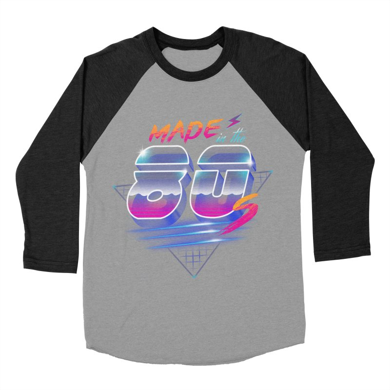 Made in the 80's Women's Baseball Triblend T-Shirt by vincenttrinidad's Artist Shop