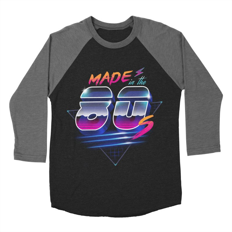 Made in the 80's Men's Baseball Triblend T-Shirt by vincenttrinidad's Artist Shop