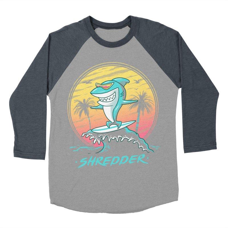 Shredder Women's Baseball Triblend T-Shirt by vincenttrinidad's Artist Shop