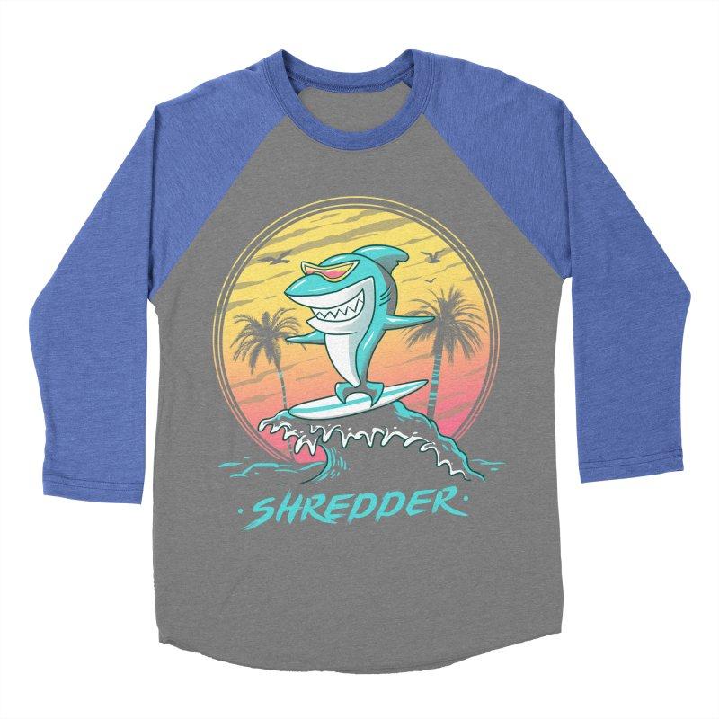 Shredder Men's Baseball Triblend T-Shirt by vincenttrinidad's Artist Shop