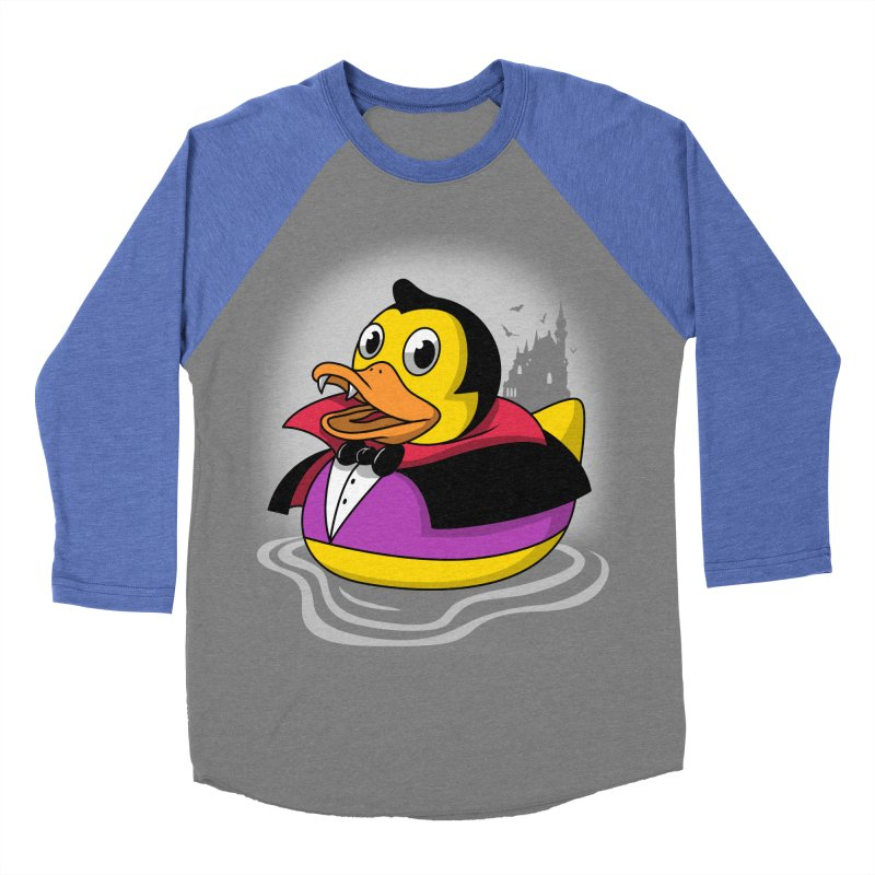 Duckula Men's Baseball Triblend T-Shirt by vincenttrinidad's Artist Shop