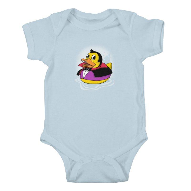 Duckula Kids Baby Bodysuit by vincenttrinidad's Artist Shop