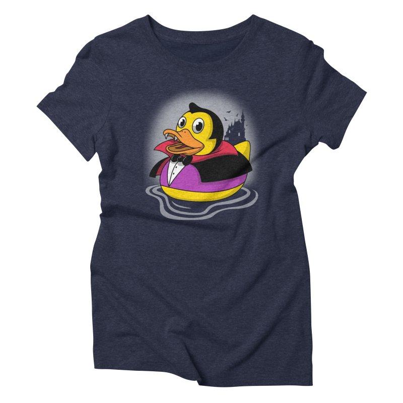 Duckula Women's Triblend T-Shirt by vincenttrinidad's Artist Shop