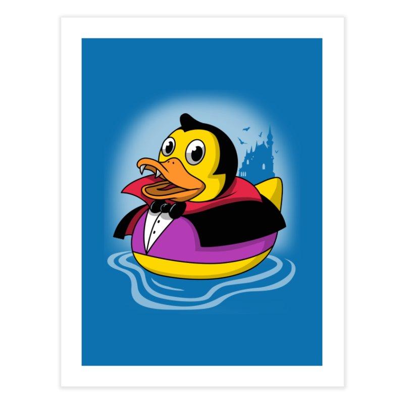Duckula Home Fine Art Print by vincenttrinidad's Artist Shop