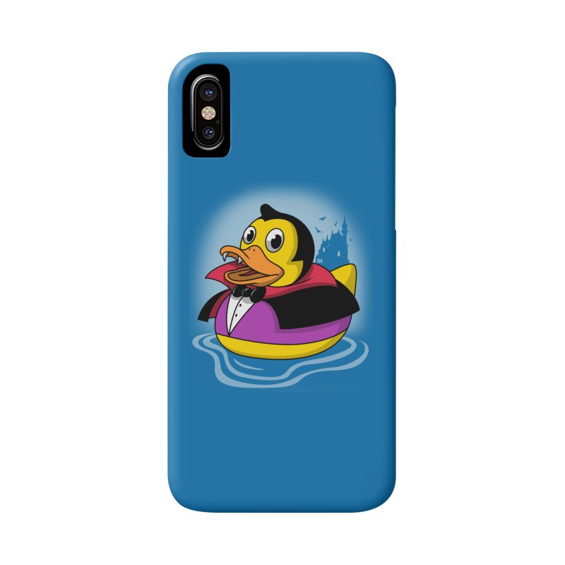 Duckula Accessories Phone Case by Vincent Trinidad