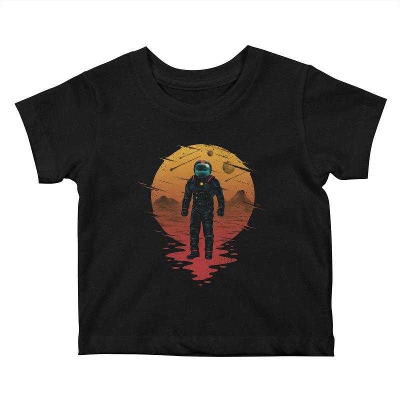 Space Opera Kids Baby T-Shirt by vincenttrinidad's Artist Shop