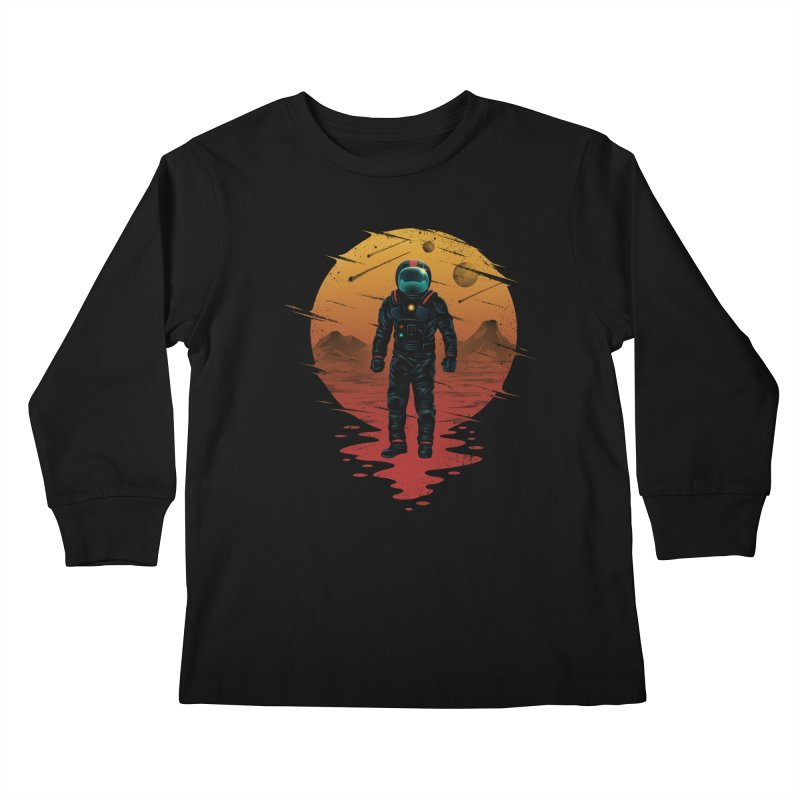 Space Opera Kids Longsleeve T-Shirt by vincenttrinidad's Artist Shop