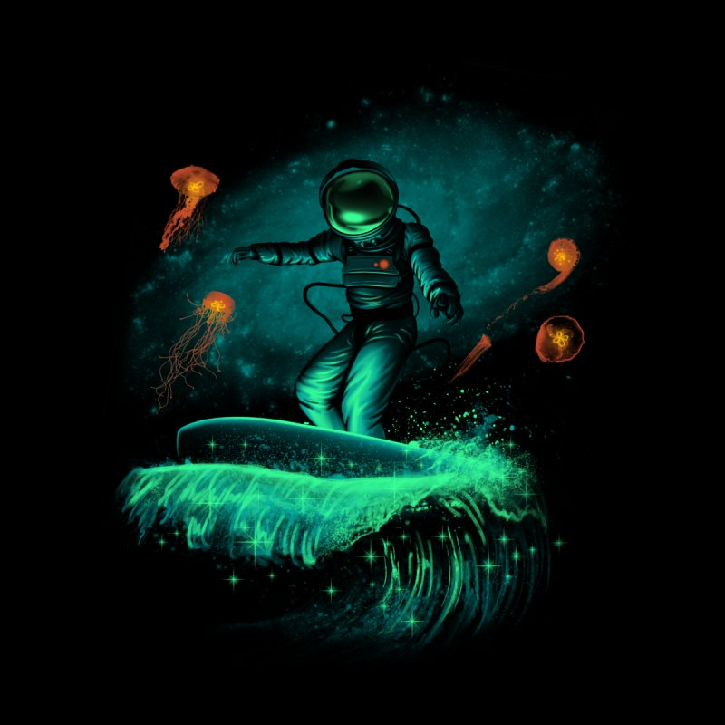 Space Surfer Men's Tank by vincenttrinidad's Artist Shop