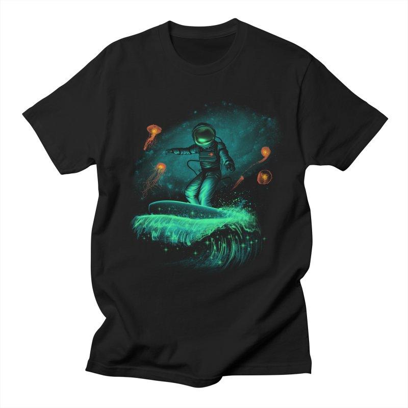 Space Surfer Women's Unisex T-Shirt by vincenttrinidad's Artist Shop