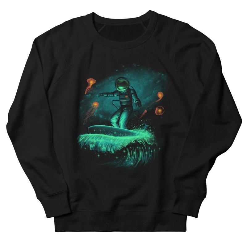 Space Surfer Men's Sweatshirt by vincenttrinidad's Artist Shop