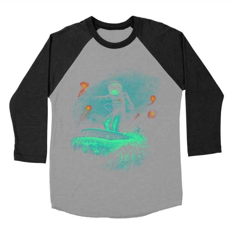 Space Surfer Women's Baseball Triblend T-Shirt by vincenttrinidad's Artist Shop