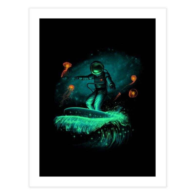 Space Surfer Home Fine Art Print by vincenttrinidad's Artist Shop