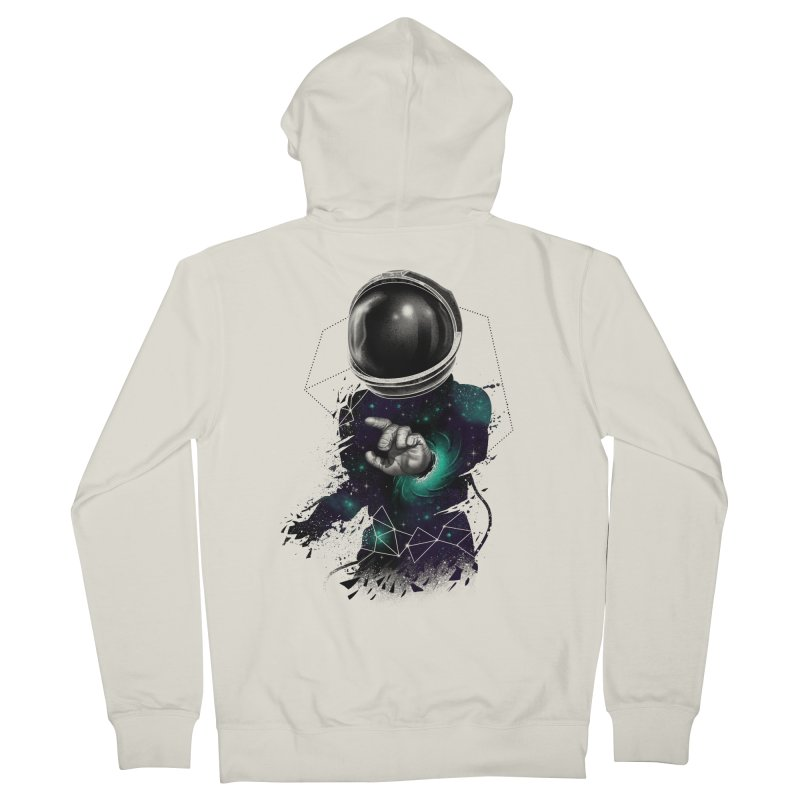 Space Warp Men's Zip-Up Hoody by vincenttrinidad's Artist Shop