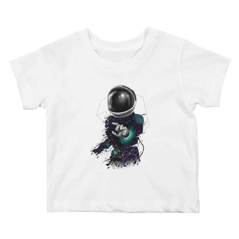 Space Warp Kids Baby T-Shirt by vincenttrinidad's Artist Shop