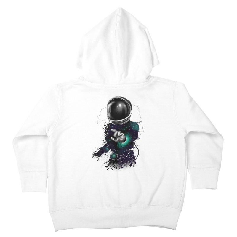 Space Warp Kids Toddler Zip-Up Hoody by vincenttrinidad's Artist Shop